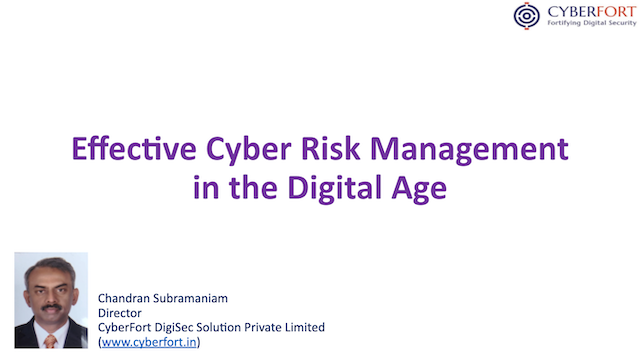 Effective Cyber Risk Management in the Digital Age