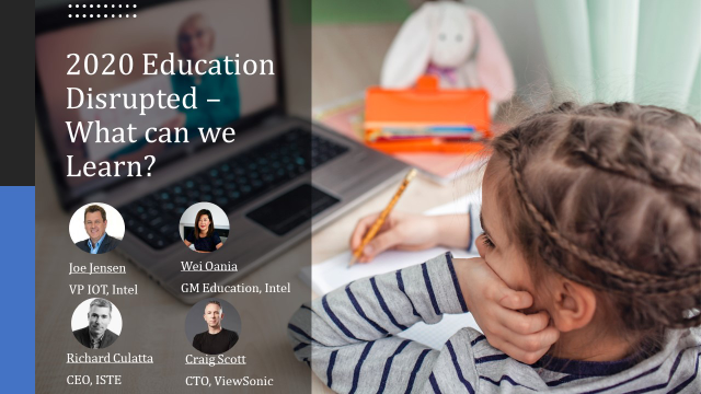 2020 Education Disrupted – What can we Learn?