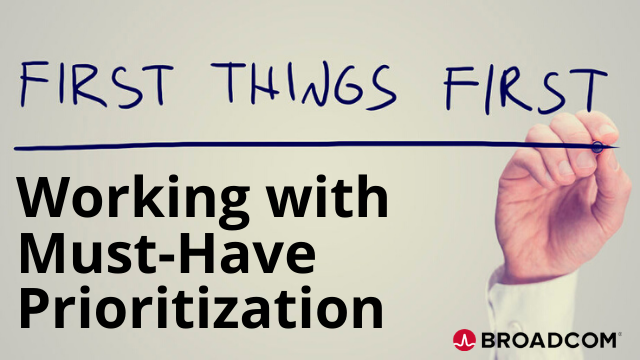 First Things First: Working with Must-Have Prioritization in Clarity