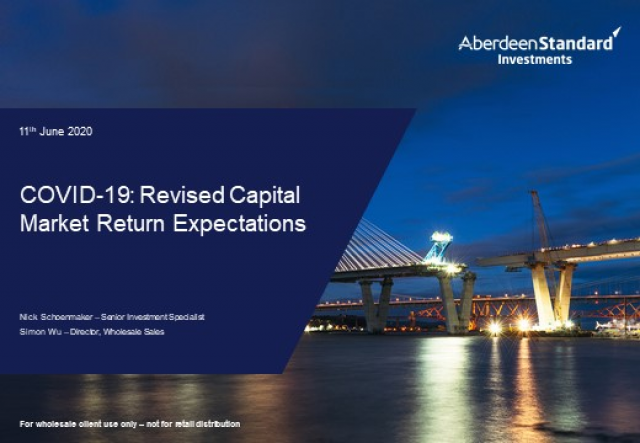 Market Insights Series - Covid-19 – Revised Capital Market Returns Expectations