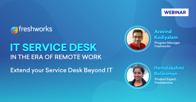 IT Service Desk - In the Era of Remote Work