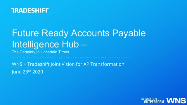 Future-ready Digital Accounts Payable Intelligence Hub