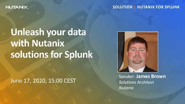 Unleash your data with Nutanix solutions for Splunk
