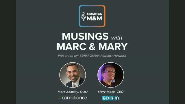 """Musings with Marc & Mary - Adapting to the """"New Normal"""""""