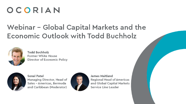 Global Capital Markets and the Economic Outlook with Todd Buchholz