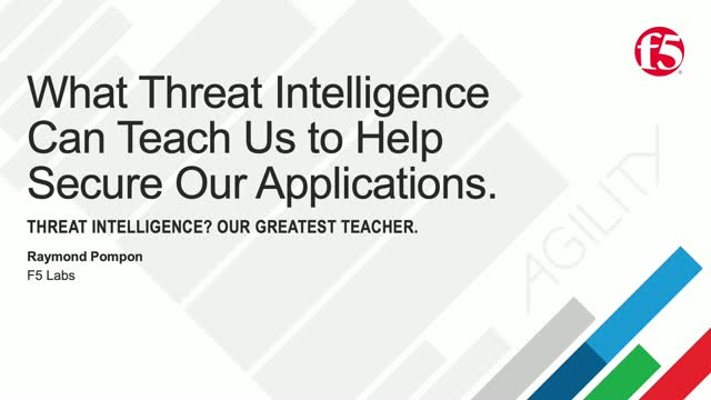 What Threat Intelligence Can Teach Us to Help Secure Our Applications