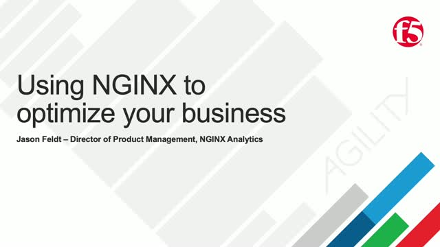 Using NGINX to Optimize Your Business