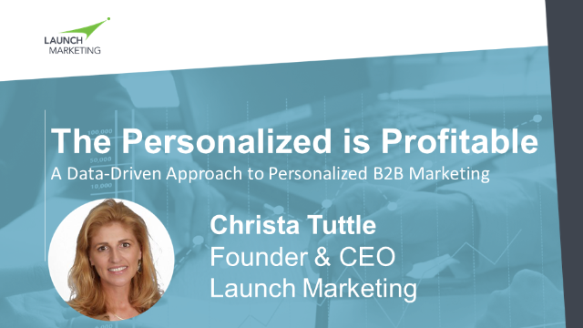 Personalized is Profitable: A Data-Driven Approach to Personalized B2B Marketing