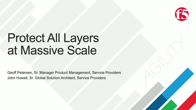 Protect All Layers of your Network at Massive Scale