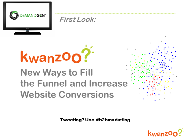 New Ways to Fill the Funnel and increase Website Conversion