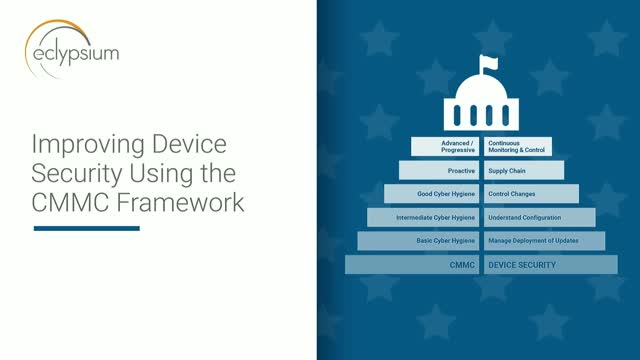 Improve Device Security Using The CMMC Framework