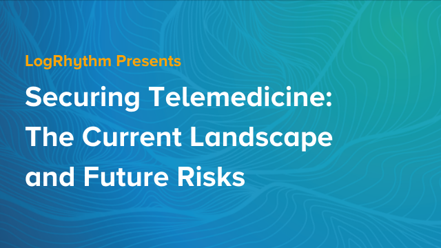 Securing Telemedicine: The Current Landscape and Future Risks
