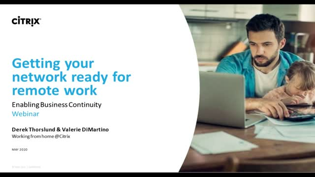 Getting your network ready for remote work