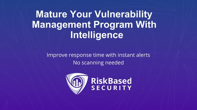 How to Proactively Manage Security with Vulnerability Intelligence