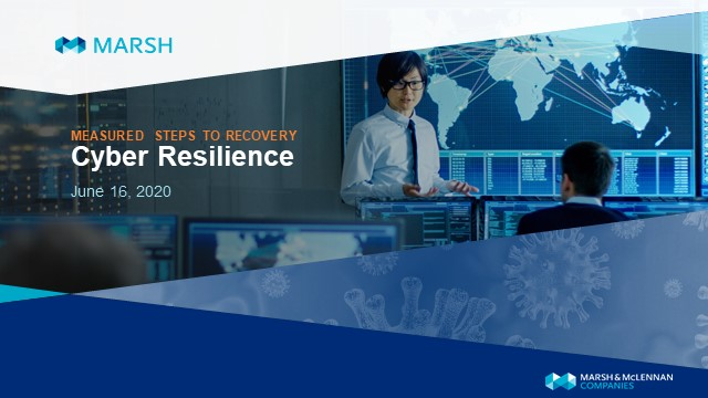 Measured Steps to Recovery - Cyber Resilience