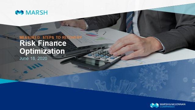 Measured Steps to Recovery - Risk Finance Optimization