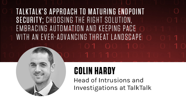TalkTalk's approach to maturing endpoint security