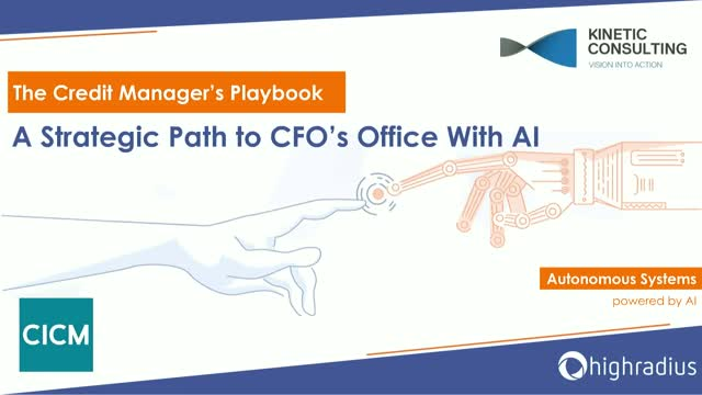 The Credit Manager's Playbook: A Strategic Path to CFOs Office with AI
