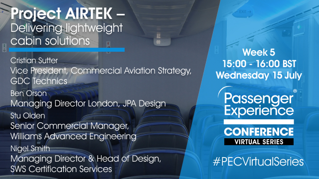 Project AIRTEK – Delivering lightweight cabin solutions