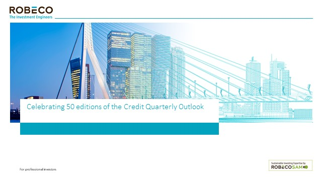 Celebrating 50 editions of the Credit Quarterly Outlook