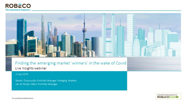 Finding the emerging market winners in the wake of Covid-19