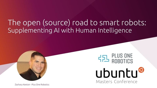 The open (source) road to smart robots: supplementing AI with Human Intelligence