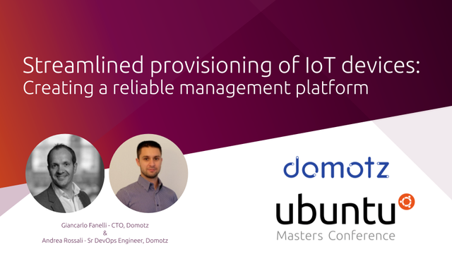 Streamlined provisioning of IoT devices: creating a reliable management platform