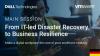 From IT-led Disaster Recovery to Business Resilience (German Subtitles)