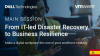 From IT-led Disaster Recovery to Business Resilience (Spanish Subtitles)