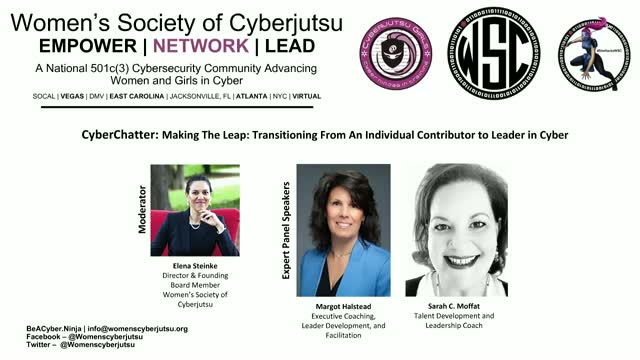 Making The Leap: From An Individual Contributor to Leader in Cyber