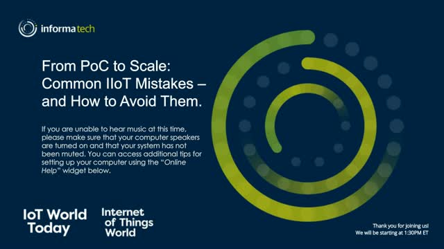 From PoC to Scale: Common IIoT Mistakes - and How to Avoid Them