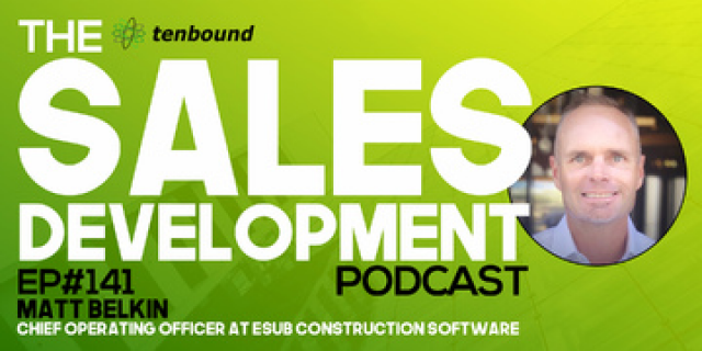 Matt Belkin - Psychographics: Your Sales Development Secret Weapon