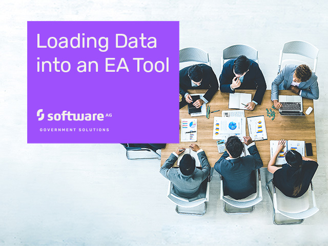 Alfabet Enterprise Architecture - Loading Data into an EA Tool