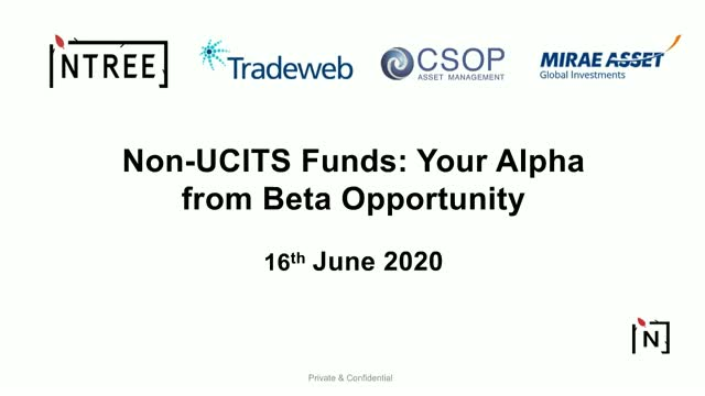 Non-UCITS Funds: Your Alpha from Beta Opportunity