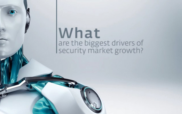 What are the biggest drivers of security market growth?