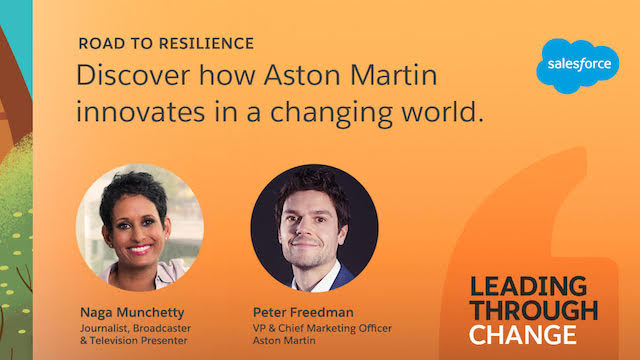 How Aston Martin is protecting & engaging their employees and customers