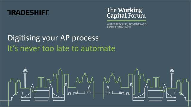Digitising your AP process: It's never too late to automate!