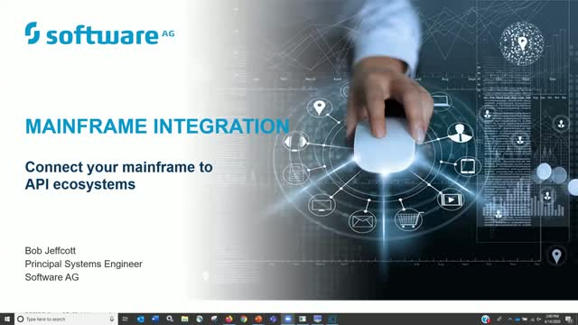 webMethods Mainframe Integration - Connect your Mainframe to API Ecosystems