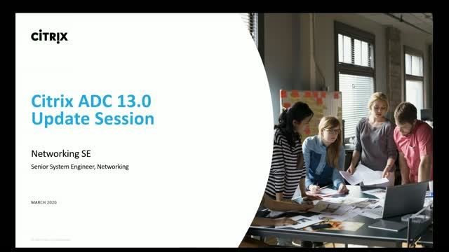 Citrix ADC, an update session