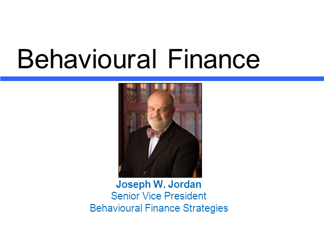 Behavioural Finance, implications for Tomorrow's Client