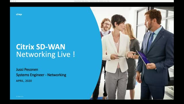 Citrix SD-WAN, an update session