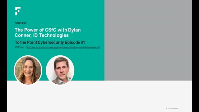 The Power of CSfC with Dylan Conner, ID Technologies