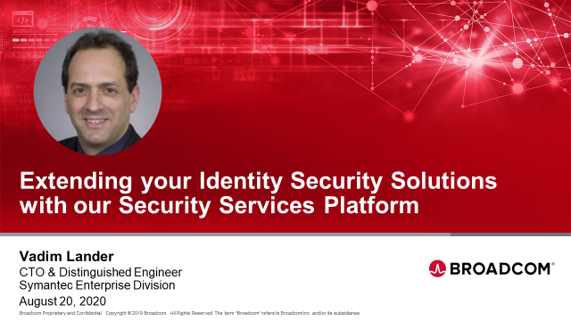 Extending your Identity Security Solutions with our Security Services Platform