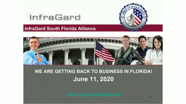 WE ARE GETTING BACK TO BUSINESS IN FLORIDA!