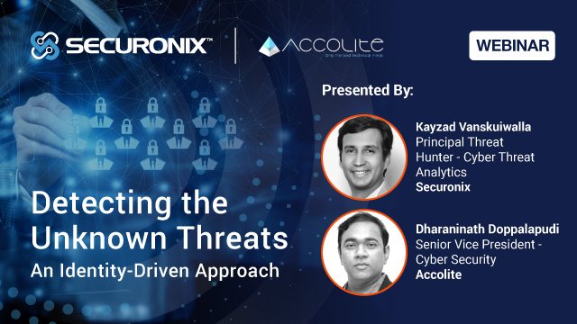 Detecting the Unknown Threats: An Identity-Driven Approach