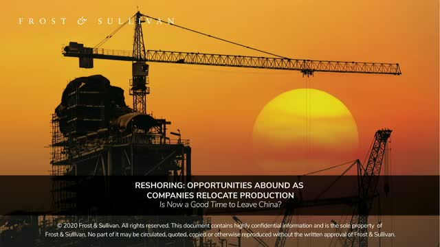 Reshoring: Opportunities Abound as Companies Relocate Production