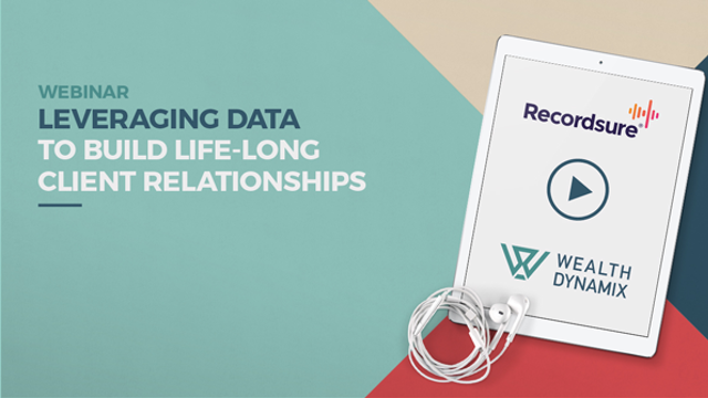 Leveraging data to build lifelong client relationships in wealth management