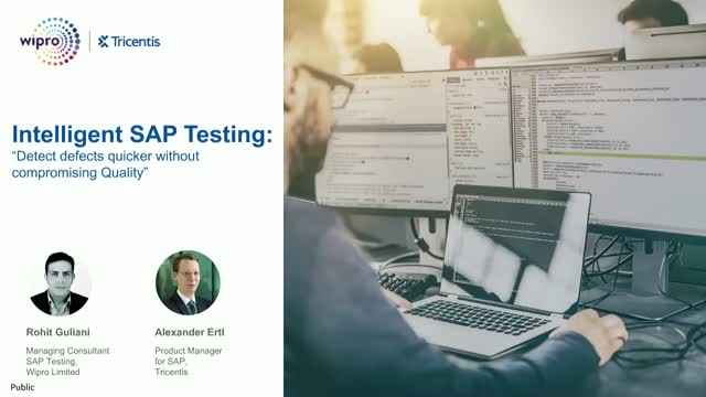 Intelligent SAP Testing: Detect defects quicker without compromising quality