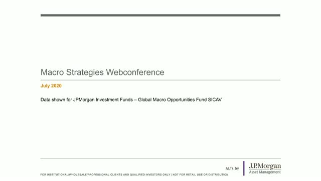 JPMorgan Investment Funds - Macro Strategies