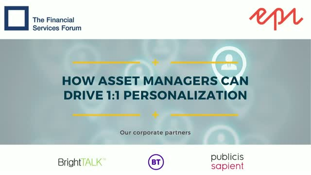 How Asset Managers Can Drive 1:1 Personalization